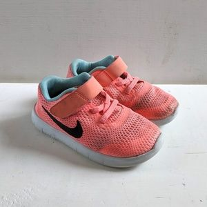 Nike Free Rn Run Girls' 10